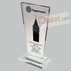 KRİSTAL PLAKET - KP-001