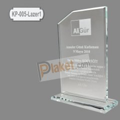 KRİSTAL PLAKET - KP-005 Lazer 1