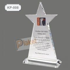 KRİSTAL PLAKET - KP-008