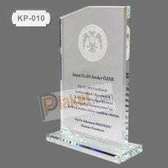 KRİSTAL PLAKET - KP-010