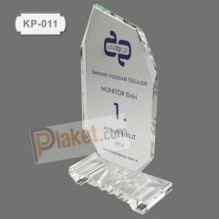 KRİSTAL PLAKET - KP-011